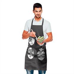 Фартук кулинарный KISS Mask цвета 3D-принт — фото 2
