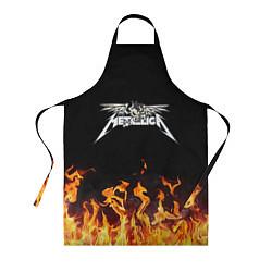Фартук кулинарный Metallica цвета 3D — фото 1