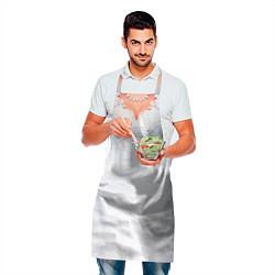 Фартук кулинарный Невеста в платье цвета 3D — фото 2