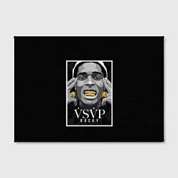 Холст прямоугольный ASAP Rocky: Gold Edition цвета 3D — фото 2