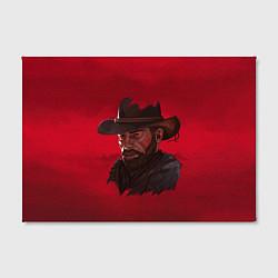 Холст прямоугольный Red Dead Redemption цвета 3D — фото 2