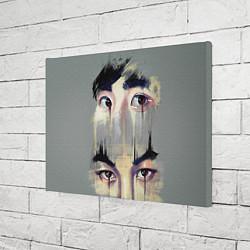 Холст прямоугольный EXO Eyes цвета 3D-принт — фото 2