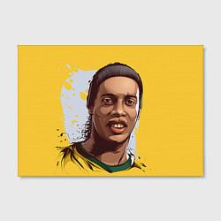 Холст прямоугольный Ronaldinho Art цвета 3D-принт — фото 2