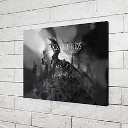 Холст прямоугольный Black Veil Brides: Faithless цвета 3D-принт — фото 2