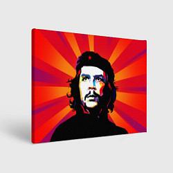 Холст прямоугольный Че Гевара цвета 3D-принт — фото 1