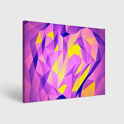 Холст прямоугольный Texture цвета 3D — фото 1