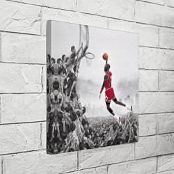 Холст квадратный Michael Jordan NBA цвета 3D-принт — фото 2