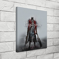 Холст квадратный Bloodborne: Hell Knight цвета 3D-принт — фото 2