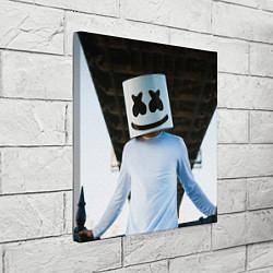 Холст квадратный Marshmallow Electronic цвета 3D-принт — фото 2