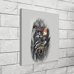 Холст квадратный Древний Сварог цвета 3D-принт — фото 2