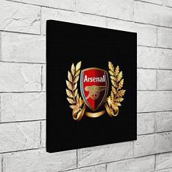 Холст квадратный Arsenal цвета 3D-принт — фото 2