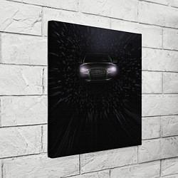Холст квадратный Audi цвета 3D — фото 2