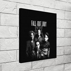 Холст квадратный Fall out boy band цвета 3D-принт — фото 2