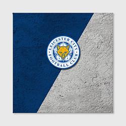 Холст квадратный Leicester City FC цвета 3D — фото 2
