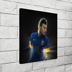 Холст квадратный Neymar: Brasil Team цвета 3D-принт — фото 2