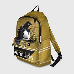 Рюкзак Pittsburgh Penguins цвета 3D-принт — фото 1