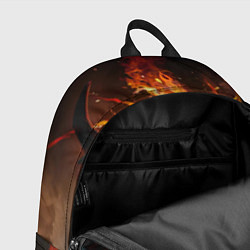 Рюкзак Nevermore Hell цвета 3D-принт — фото 2