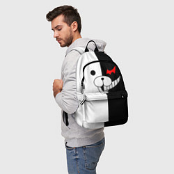 Городской рюкзак с принтом Monokuma, цвет: 3D, артикул: 10119716605601 — фото 2