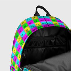 Рюкзак Тестовый яркий цвета 3D — фото 2