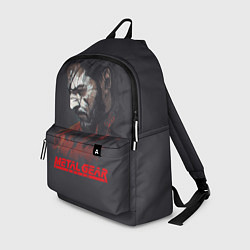 Рюкзак Metal Gear Solid цвета 3D — фото 1