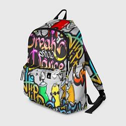 Рюкзак Break Show Dance цвета 3D-принт — фото 1