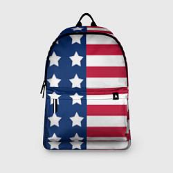 Рюкзак USA Flag цвета 3D-принт — фото 2
