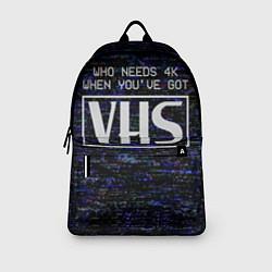 Рюкзак 4K VHS цвета 3D-принт — фото 2