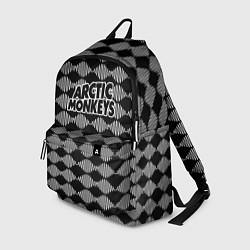 Рюкзак Arctic Monkeys: Black style цвета 3D-принт — фото 1