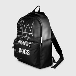 Рюкзак Watch Dogs: Hacker цвета 3D — фото 1