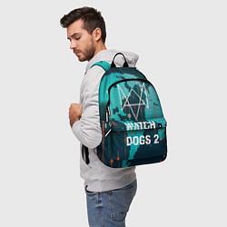 Рюкзак Watch Dogs 2: Network Hack цвета 3D-принт — фото 2