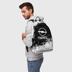 Рюкзак Opel: Black Spray цвета 3D-принт — фото 2