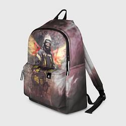 Рюкзак Пожарный ангел цвета 3D-принт — фото 1