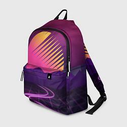 Рюкзак Digital Sun цвета 3D-принт — фото 1