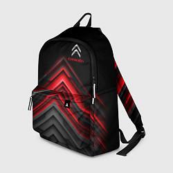 Рюкзак Citroen: Red sport цвета 3D-принт — фото 1