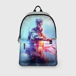 Рюкзак Battlefield 5 цвета 3D-принт — фото 2