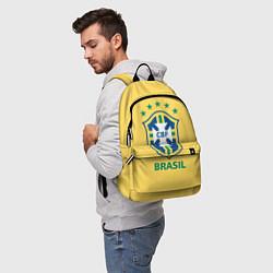 Рюкзак Brazil Team цвета 3D-принт — фото 2