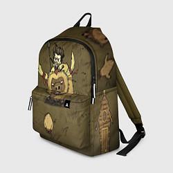 Рюкзак Wild Wilson цвета 3D-принт — фото 1