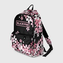 Рюкзак Black Pink: Pink Sakura цвета 3D-принт — фото 1
