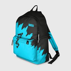Рюкзак GODZILLA цвета 3D-принт — фото 1