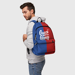 Рюкзак Gucci Gang: Blue & Red цвета 3D — фото 2