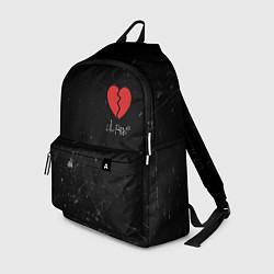 Рюкзак Lil Peep: Broken Heart цвета 3D — фото 1