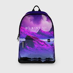 Рюкзак No Man's Sky: Neon Mountains цвета 3D — фото 2