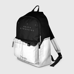 Рюкзак Death Stranding: Black & White цвета 3D-принт — фото 1