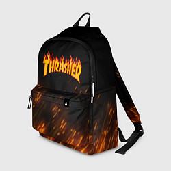 Рюкзак Thrasher: Hell Flame цвета 3D — фото 1