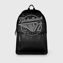 Рюкзак Nickelback Est. 1995 цвета 3D-принт — фото 2