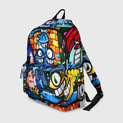 Рюкзак Graffiti Exclusive цвета 3D-принт — фото 1