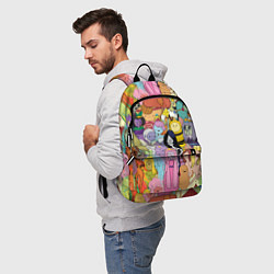 Рюкзак Adventure time цвета 3D — фото 2