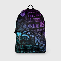 Городской рюкзак с принтом LIL PEEP LOGOBOMBING, цвет: 3D, артикул: 10204410905601 — фото 2