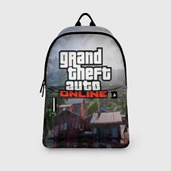 Рюкзак GTA Online цвета 3D-принт — фото 2