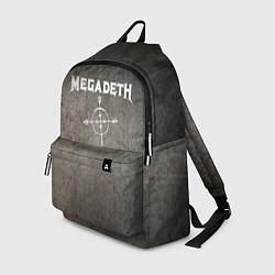 Рюкзак Megadeth цвета 3D-принт — фото 1